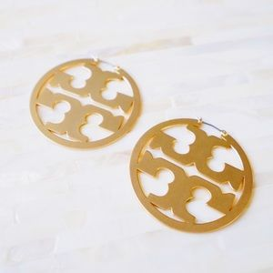 Tory Burch Miller Hoop Earrings